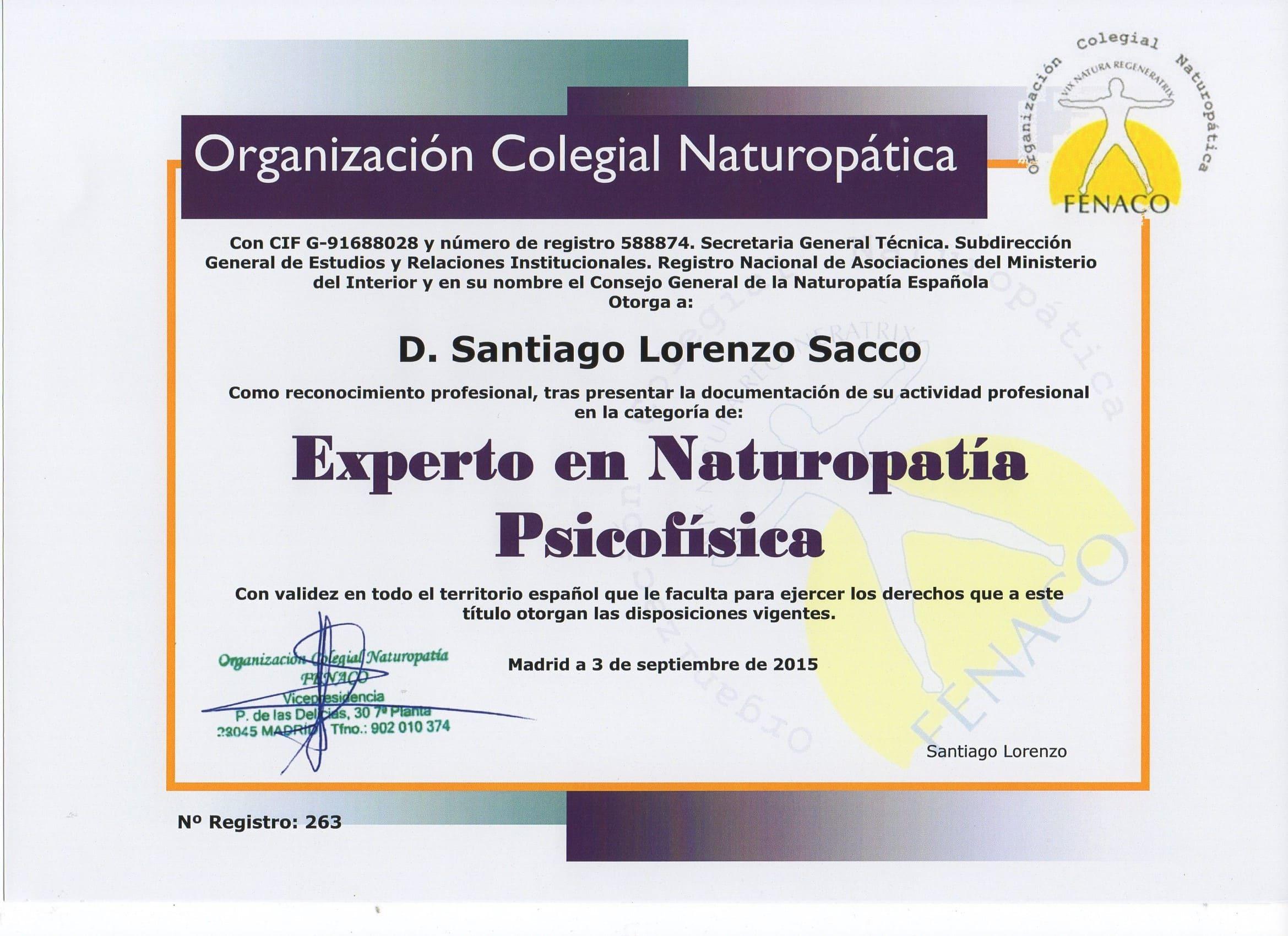 Diplomas Santiago Pazhín